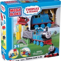 Mega Bloks Thomas 3-in-1 Buildable Thomas Load'n Go