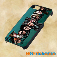 Painting Johnny Depp Face Tree for iphone, ipod, ipad and samsung galaxy case