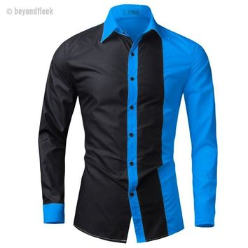 Two Face Button Down Shirt