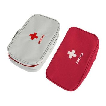 ONETOW Multifunctional Home Portable Handheld Medical Bag First Aid Pattern Medicine Storage Bag Organizer Safety Survival Well Sell