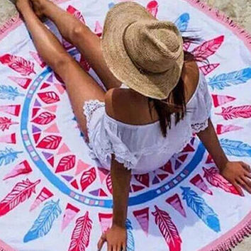 Fab Roundie Bohemian Beach Towel in Three Different Styles