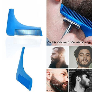 Perfect Lines Symmetry Beard Shaping Shaving Tool Comb [8323048385]