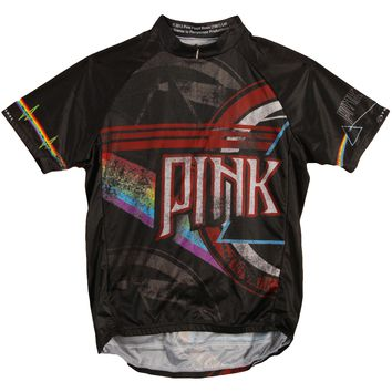 Pink Floyd Men's  Eclipse Cycling  Jersey Black Rockabilia
