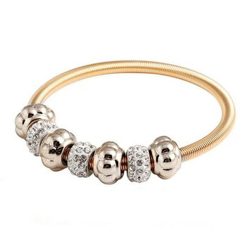 Fashion Bracelet Jewelry Bracelets Spring Shangrila Bead Bangle Bracelet