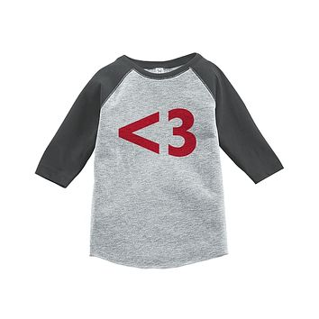 Custom Party Shop Kids s Day Grey Raglan