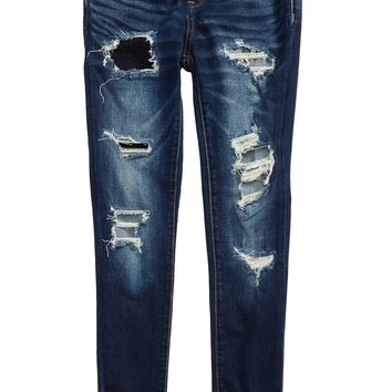 BLANKNYC Rip & Repair Skinny Jeans (Big Girls) | Nordstrom