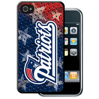 Iphone 44S Hard Cover Case - New England Patriots