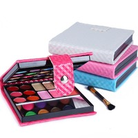 1 Set Makeup Eyeshadow Palette 32 colors Fashion Eye Shadow Make Up Shadows With Case Cosmetics For Women Girls Lady Z3