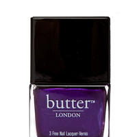 butter LONDON 3 Free Lacquer in Purple