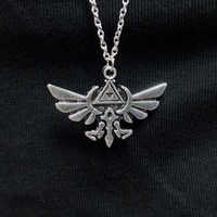 Legend of Zelda - Hylian Crest Necklace :: VampireFreaks Store :: Gothic Clothing, Cyber-goth, punk, metal, alternative, rave, freak fashions