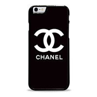 chanel black logo fashion Iphone 6 plus cases