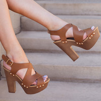 Catalina Heels - Tan
