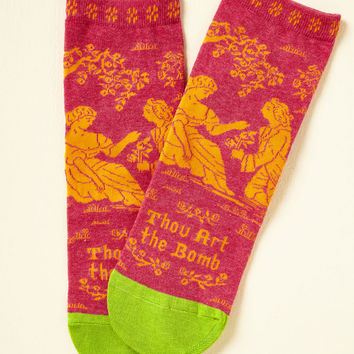 Bard Act to Follow Socks | Mod Retro Vintage Socks | ModCloth.com