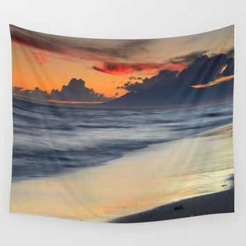 Magic days. Wonderful sea... Wall Tapestry by Guido Montañés