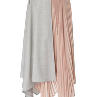 Pleated Wrap Skirt | Moda Operandi