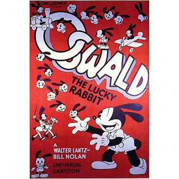 Oswald the Lucky Rabbit 11x17 Movie Poster (1932)
