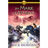 The Mark of Athena (Heroes of Olympus Series #3) by Rick Riordan (Hardcover)