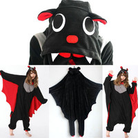 Hot Kigurumi Pajamas Anime Cosplay Costume unisex Adult Onesuit Dress S M L XL