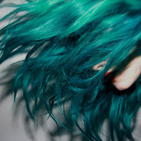 TURQUOISE Blue Hair // FULL HEAD Extensions by WarriorsOfCulture