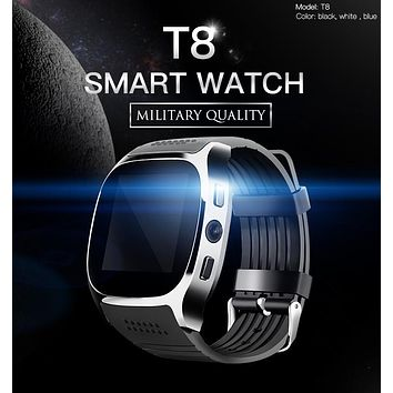 NEW T8 Bluetooth Smart Watches Support SIM TF Card