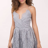 Emalea Multi Strap Skater Dress