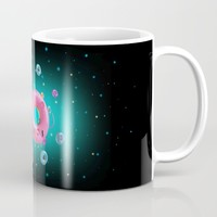 Mama Donut Mug by Guilherme Barrios