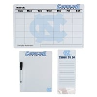 North Carolina Tar Heels Dry Erase Board Set (Unc Team)