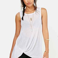 Project Social T Side-Tuck Muscle Tee-