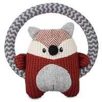 Leaps & Bounds Wildlife Plush Ring Fox Dog Toy | Petco