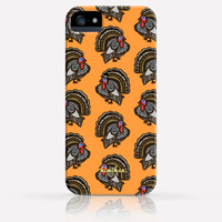 Cute Thanksgiving Turkey iPhone 6 Case iPhone 5 Case iPhone 5C Case iPhone 4 Case Samsung Galaxy s5 Case iPhone Hard Plastic Case