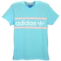 adidas Originals Heritage Logo S/S T-Shirt - Men's at Foot Locker