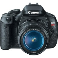 Canon - EOS Rebel T3i Digital SLR Camera with 18-55mm IS Lens - Black