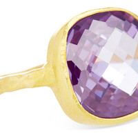 Cushion-Cut Cocktail Ring, Amethyst, Stone & Novelty Rings