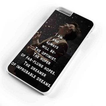 Doctor Who Tardis Quote  iPhone 6s Plus Case iPhone 6s Case iPhone 6 Plus Case iPhone 6 Case