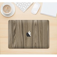 "The Beige Woodgrain Skin Kit for the 12"" Apple MacBook"