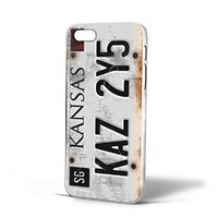 Supernatural License Plate for Iphone Case (iPhone 5/5s white)