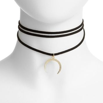Jules Smith Layered Pendant Choker | Nordstrom