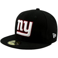 New Era New York Giants Solid 59FIFTY Fitted Hat - Black