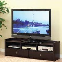 60-inch Wide TV Stand / Entertainment Center in Coffee Bean