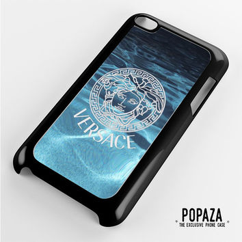 Versace logo on water iPod Touch 4 Case