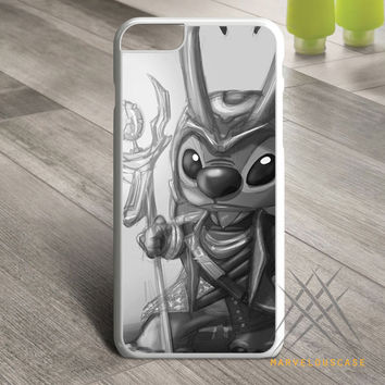 Stitch Loki Black And White Design Custom case for iPhone, iPod and iPad