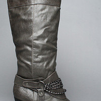 Karmaloop.com - Global Concrete Culture - The Afton Boot in Gray by *Sole Boutique