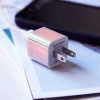 Free People Printed USB Wall Charger