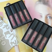 Huda BEAUTY 4pcs set Lip gloss
