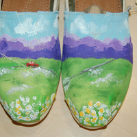 """Custom Toms, inspired by """"Cruise"""" Florida Georgia Line, shoes included, your size and color"""