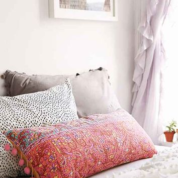Plum & Bow Pila Kantha Pillow