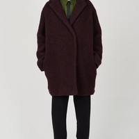 Kenzo Teddy Wool Coat - WOMEN - JUST IN - Kenzo - OPENING CEREMONY