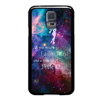 tinkerbell flying galaxy quote samsung galaxy s5 s3 s4 s6 edge cases