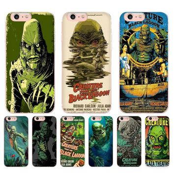 Retro Creature From the Black Lagoon Phone Cases - iPhone