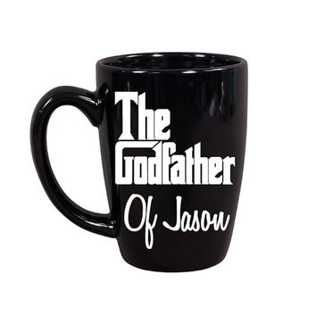 Godfather Coffee Mug, Godfather Gift, Personalized Godfather Coffee Mug